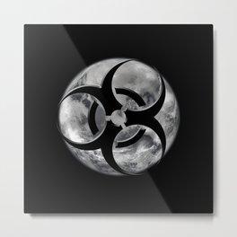 Toxic Biosphere Metal Print