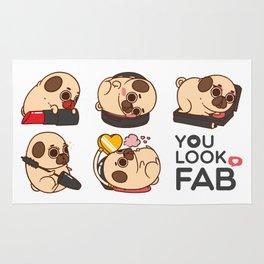 You Look Fab! -Puglie Rug