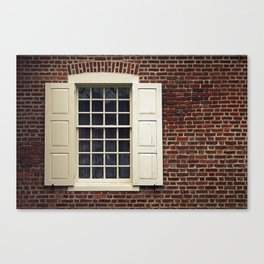 Annapolis Window Canvas Print