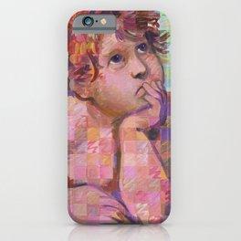 Sistine Cherub No. 1 iPhone Case