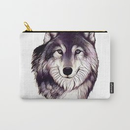 Wolfe Smile Carry-All Pouch