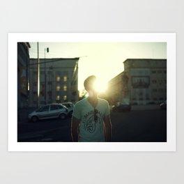 Flarelove (dust & sunshine) Art Print