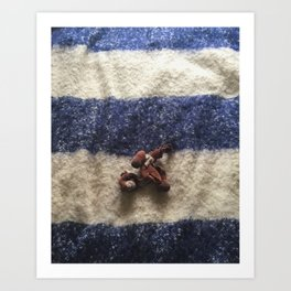 Chesterfield / Chewed Toy Art Print