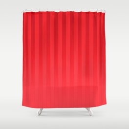 Gradient Stripes Pattern ir Shower Curtain
