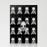 skeletor Stationery Cards featuring Skeletor by Mountain View Art