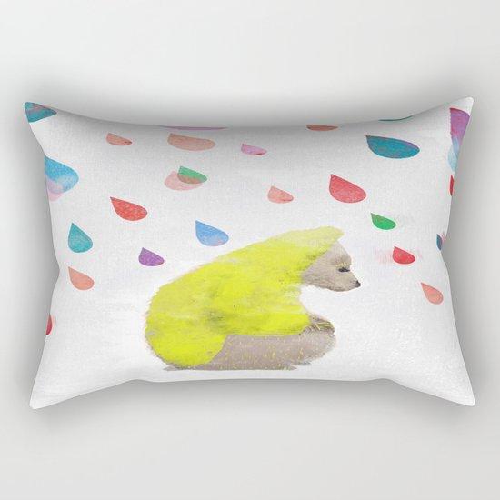 rainy day dream away Rectangular Pillow