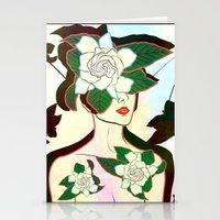window Stationery Cards featuring WINDOW by Lorenza Bluetiz