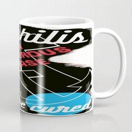 Vintage poster - Syphilis Coffee Mug