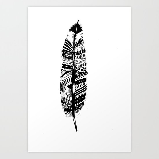 A long time ago I used to be an Indian (2) Art Print