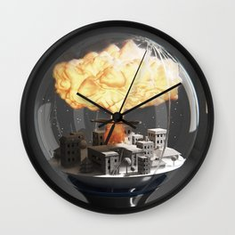 Woeglobe Wall Clock