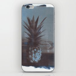 pineapple beach iPhone Skin