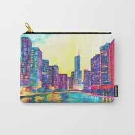 Chicago River Carry-All Pouch