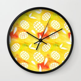 Mango Mania Wall Clock