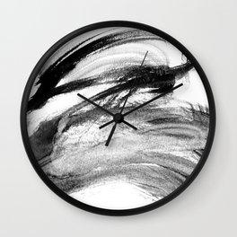I wash my brush to get grey Wall Clock