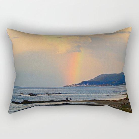 Adventure under the Rainbow Rectangular Pillow