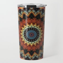 Fundamental Spiral Mandala Travel Mug