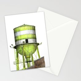 Montreal's Water Tower (Lachine Canal) Stationery Cards
