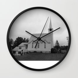 Get in the God-itorium Wall Clock