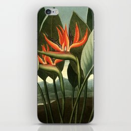 Birds of Paradise : Temple of Flora iPhone Skin