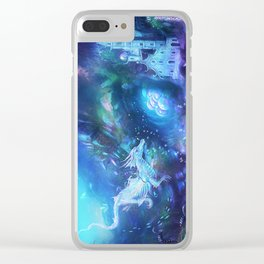 Water Dragon Kingdom Clear iPhone Case