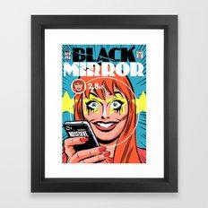 Nosedive Framed Art Print