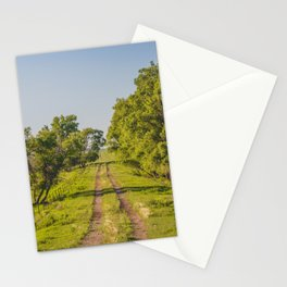 Country Trail, McLean County, North Dakota 3 Stationery Cards