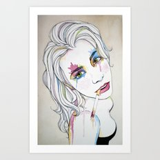 Self Portrait No. 1 Art Print