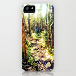 Zealand Forest iPhone Case