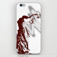 nike iPhone & iPod Skins featuring Athena Nike  by Emma Elisabeth