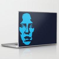 christopher walken Laptop & iPad Skins featuring Walken by Aaron Synaptyx Fimister