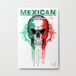To The Core Collection: Mexico Metal Print