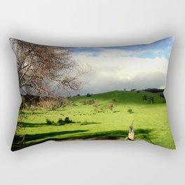 Follow the fence Line Rectangular Pillow