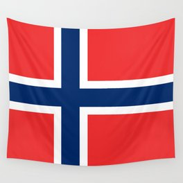 Flag: Norway Wall Tapestry