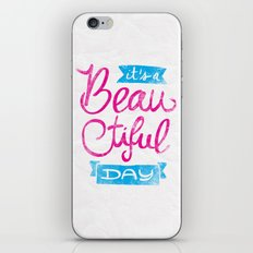 It´s a Beautiful Day iPhone & iPod Skin