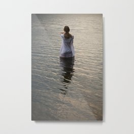 Dreaming in the water Metal Print