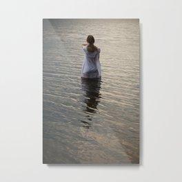 Dreaming in the water Metal Print
