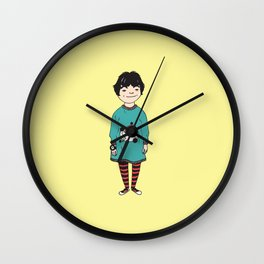 Lightning Bolts, Rainbows, and Toy Watches Wall Clock