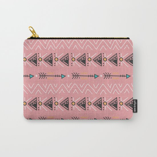 Triangle arrow pattern Carry-All Pouch