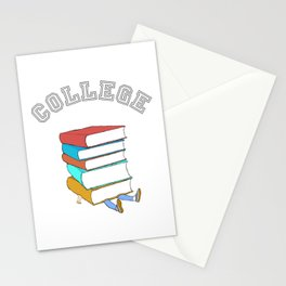 College Textbooks and Student Loans Stationery Cards