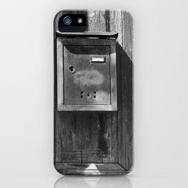 Mailbox in the sun iPhone Case