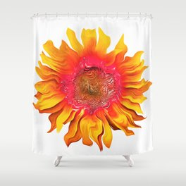 Sunflower 18 Shower Curtain