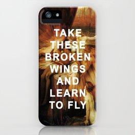 The Lament for Blackbird iPhone Case