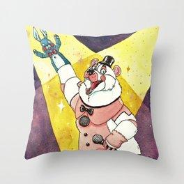 Hello F-friends! Throw Pillow