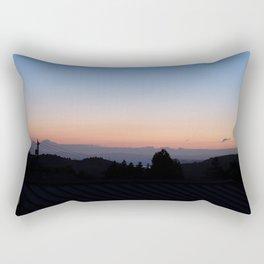 Before Marin County Sunrise Rectangular Pillow