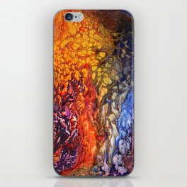 SoapsAndRoses.Art: Fluid Sunset iPhone Skin