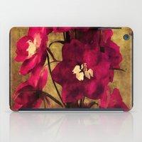 vintage flowers iPad Cases featuring Vintage Flowers by Christine Belanger