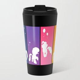 Rainbow Ponies Travel Mug