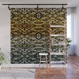 Floral Wrought Iron G267 Wall Mural