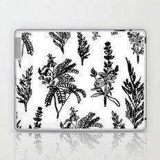 fleur noir Laptop & iPad Skin