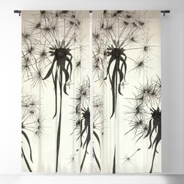 Dandelions Make a Wish Blackout Curtain
